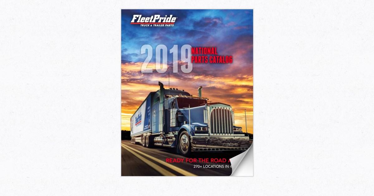 FleetPride 2019 National Parts Catalog