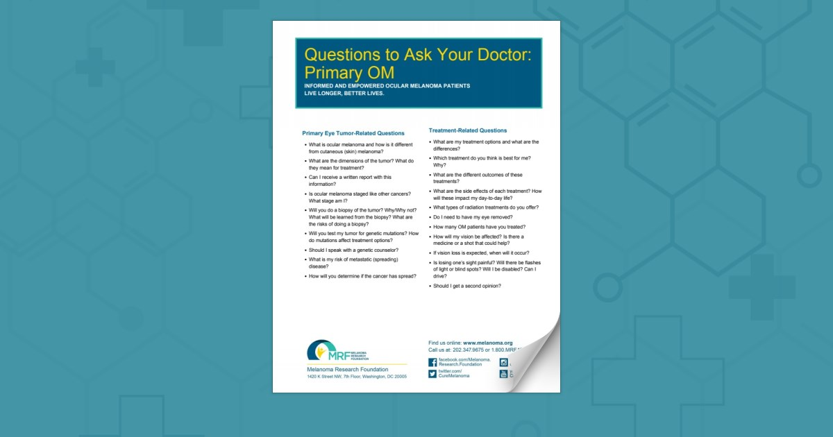 Questions For Your Doctor: Primary OM