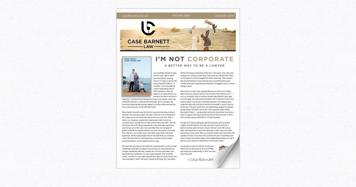 Case Barnett Law - B2C - January 2019