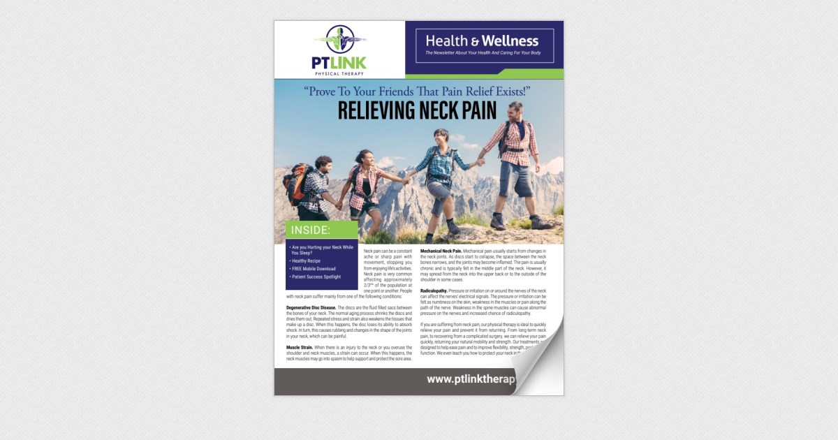PT Link: Relieving Neck Pain