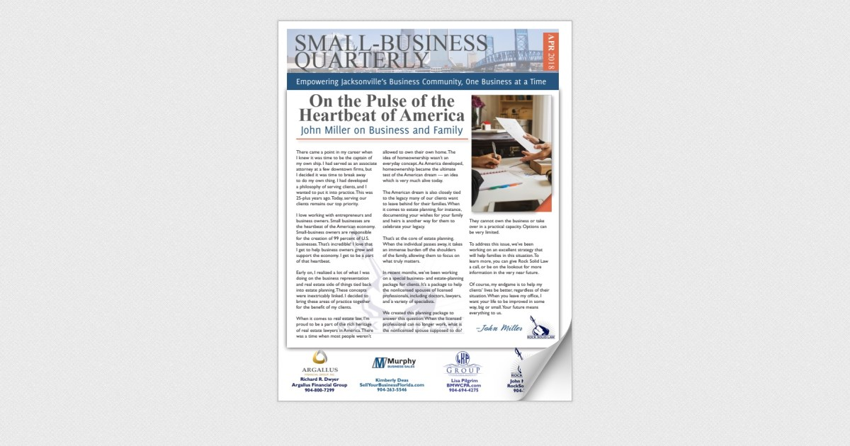 Small-Business Quarterly April 2018