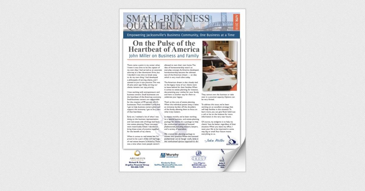 Small-Business Quarterly April 2018