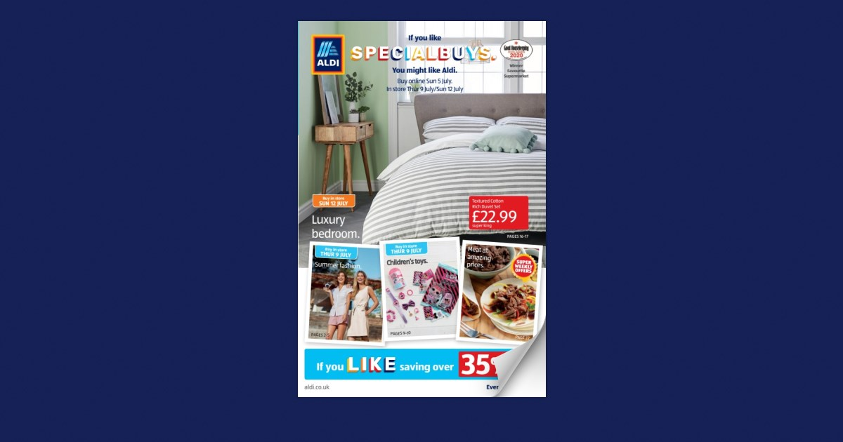 Aldi Uk Specialbuys Thur 09 July Sun 12 July Dont Delete