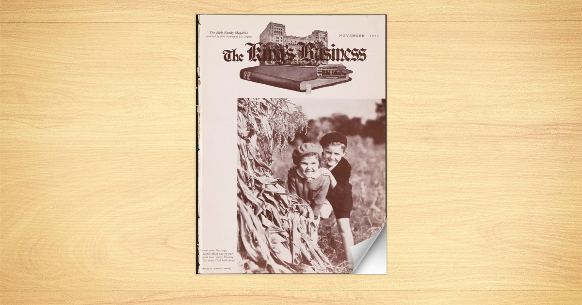 King's Business - 1935-11
